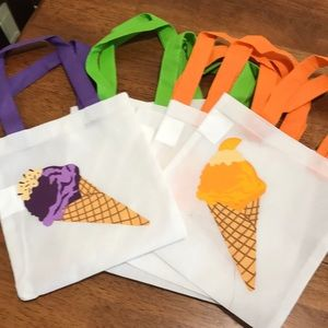 Other - Ice cream party favor bags
